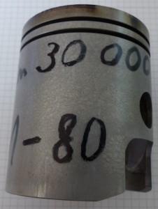 Kolben MZ ETZ 300 Laufleistung und Mischungsverhältnis